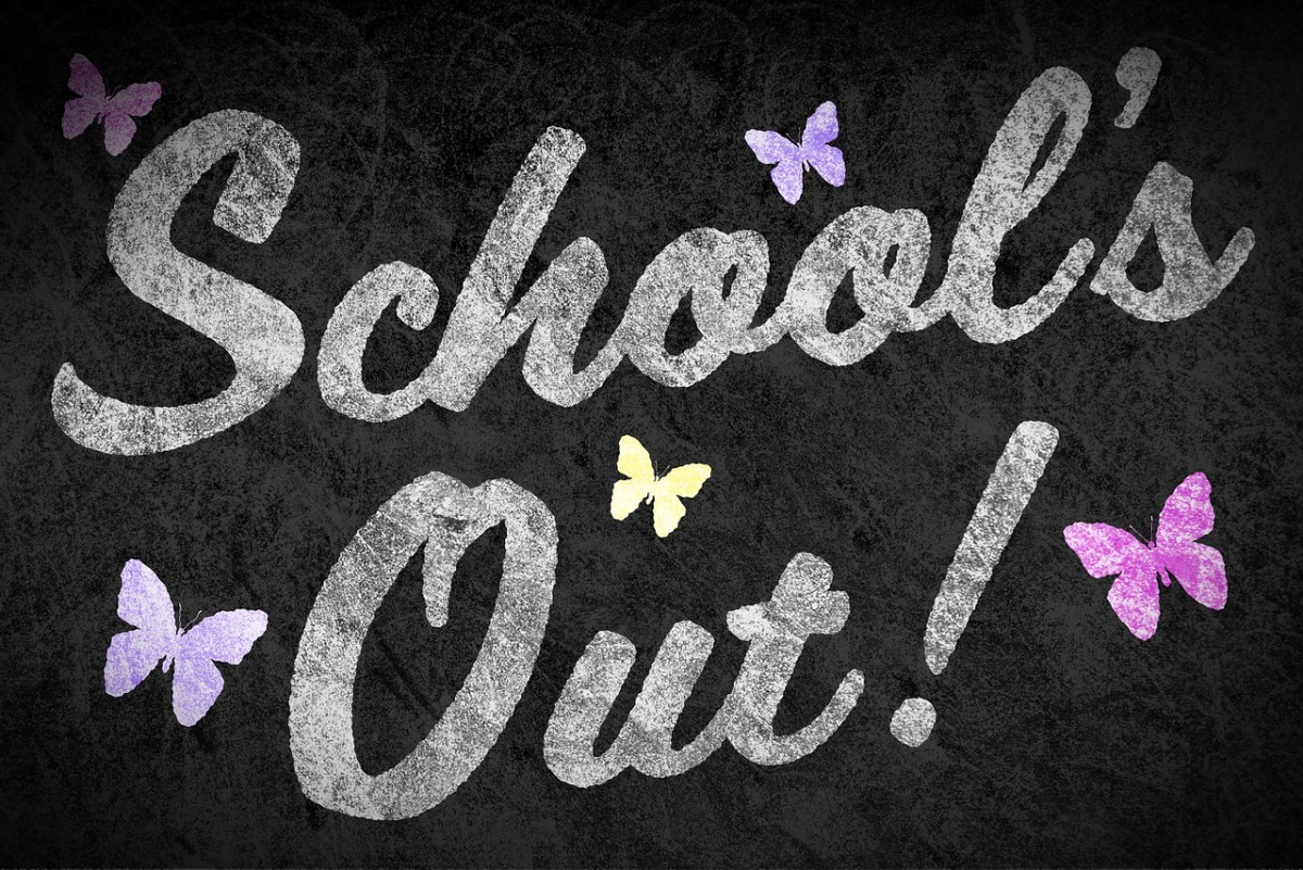 School's out…. for teachers…